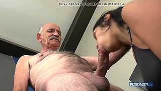 video titel: she wants grandpa big cock || porn tgas: big cock,grandpa,old and young,jizzbunker