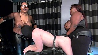 video titel: fucked by three blacks dominas || porn tgas: black,femdom,fuck,high definition,xhamster