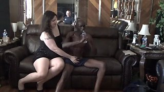 video titel: Tisha takes some black cock as her hubby watches and films || porn tgas: 3some,amateur,big cock,black,xxxdan