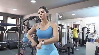 video titel: Sexy gym workout cameltoe big pussy ass academia malhando || porn tgas: big ass,cameltoe,fitness,pussy,jizzbunker
