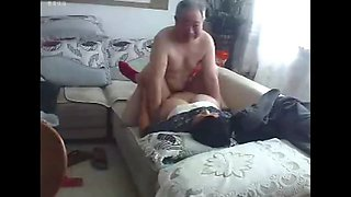 video titel: Chinese old couple in the living room obscene live sex || porn tgas: chinese,couple,old and young,old man,jizzbunker