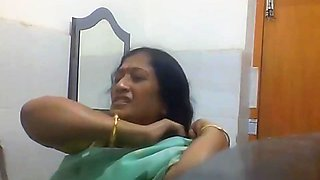 video titel: Indian Bengali Milf Aunty Changing Saree in Bathroom || porn tgas: aunty,bathroom,indian,milf,