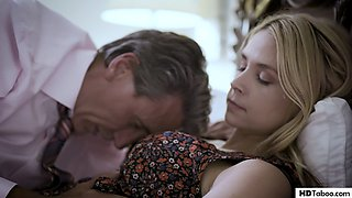 video titel: Pathetic step dad fucks his wife and step daughter in succession Sarah Vandella, Elena Koshka || porn tgas: american,cheating,daddy,daughter,gotporn