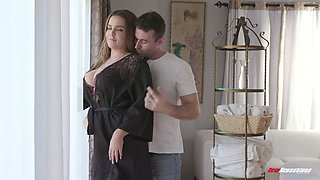video titel: Curvy French stunner Natasha Nice gets her oiled up boobs fucked || porn tgas: boobs,curvy,french,fuck,anysex