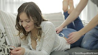 video titel: Sensual love making on the bed with Russian teen Adell and her man || porn tgas: bed,love,russian,sensual,bravoteens