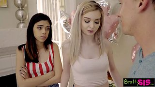 video titel: Turning 18 and getting step brother cock w bff pussy || porn tgas: cock,pussy,stepbrother,xxxdan