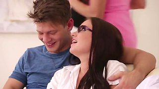 video titel: Three couples swinger party || porn tgas: anal,brunette,couple,group,