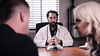 video titel: Crazy doctor solved MILFs problem with his hard cock    porn tgas: cock,crazy,doctor,milf,nuvid