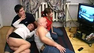 video titel: Family Fucking in Foursome || porn tgas: 4some,family,fuck,xhamster