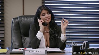 video titel: Day at the office quickly turns into the wildest pussy pounding || porn tgas: ass,big tits,blowjob,brunette,anyporn