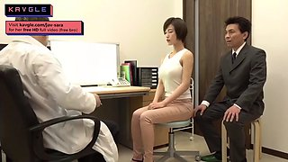 video titel: Hot japanese housewife fucking old doctor during checkup || porn tgas: doctor,fuck,housewife,japanese,jizzbunker