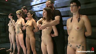 video titel: Tied up bitches are tied up and punished by several kinky dudes || porn tgas: bondage,dude,kinky,punishment,anysex