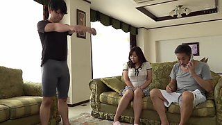 video titel: SPRD KAORI My Son In Law A Stepmom Gets Fucked Out Of Her Mind thigh up    porn tgas: asian,big tits,brunette,cumshots,