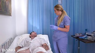 video titel: A home nurse that gets totally into fucking her patient || porn tgas: doctor,fuck,hardcore,homemade,xxxdan
