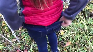 video titel: 18 Year Old Public Forest Quickie    porn tgas: 18 years old,amateur,big cock,blowjob,